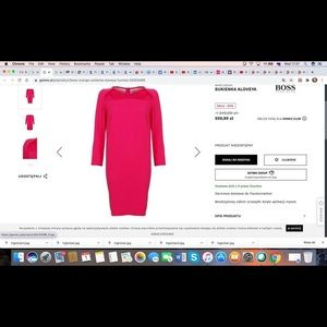 Brand new with tags Hugo Boss dress